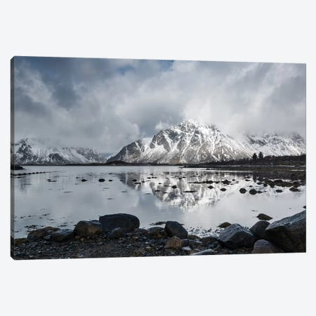Lofoten Clouds Canvas Print #STR75} by Andreas Stridsberg Canvas Print