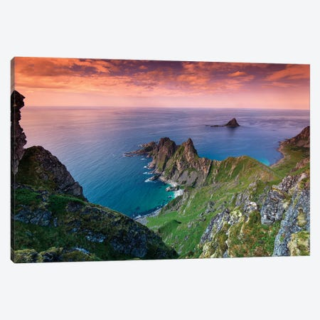 Lofoten Coast Canvas Print #STR76} by Andreas Stridsberg Canvas Print
