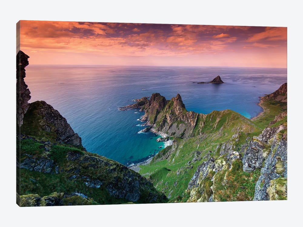 Lofoten Coast by Andreas Stridsberg 1-piece Canvas Print