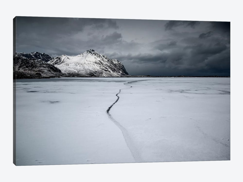 Lofoten Frozen by Andreas Stridsberg 1-piece Art Print