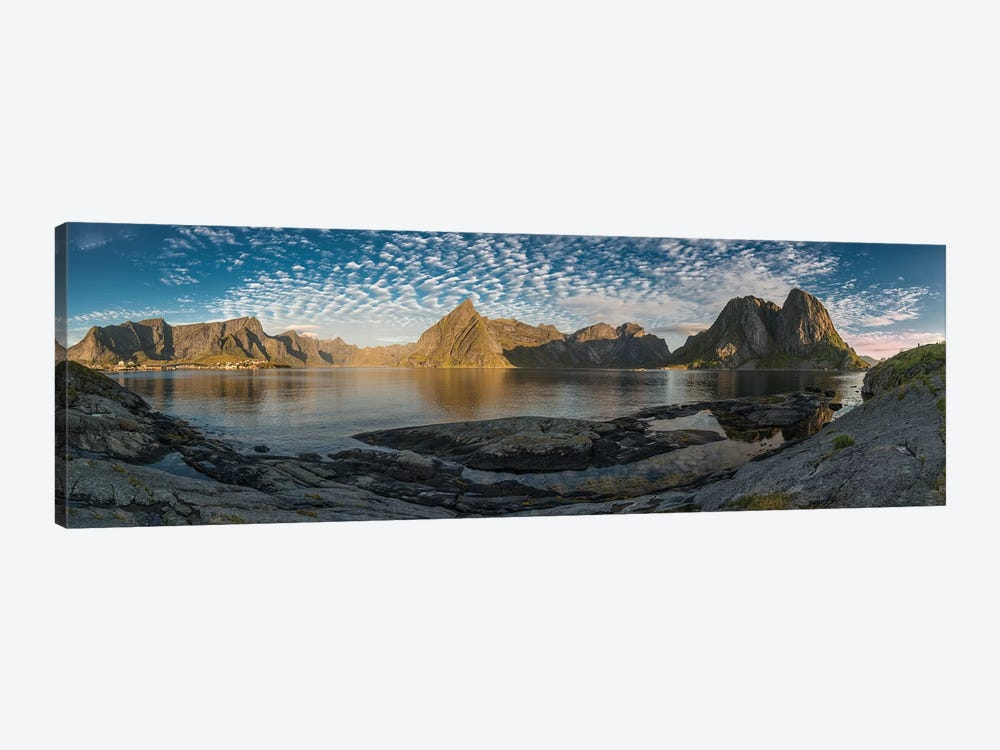 Lofoten Mountains by Andreas Stridsberg 1-piece Canvas Print
