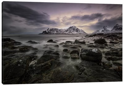 Lofoten Shore Canvas Art Print