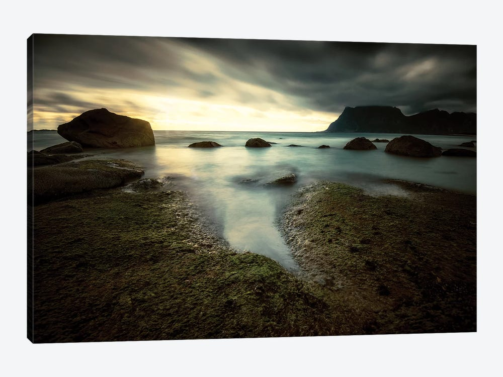 Lofoten Tide Pool by Andreas Stridsberg 1-piece Canvas Art