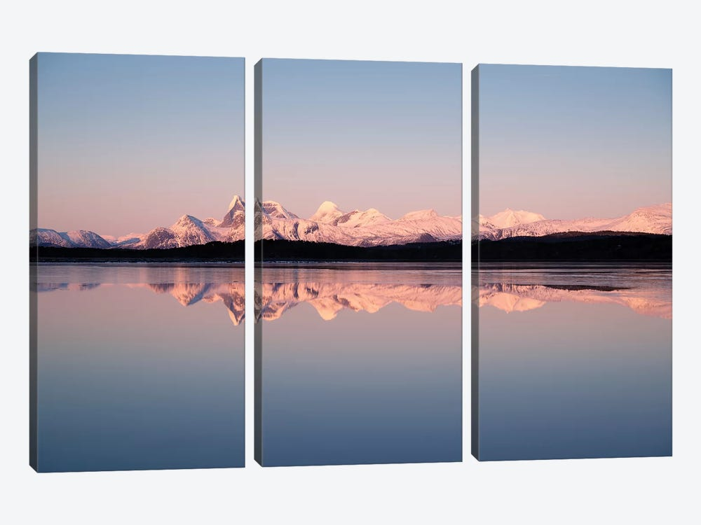 Norwegian Coast by Andreas Stridsberg 3-piece Canvas Wall Art