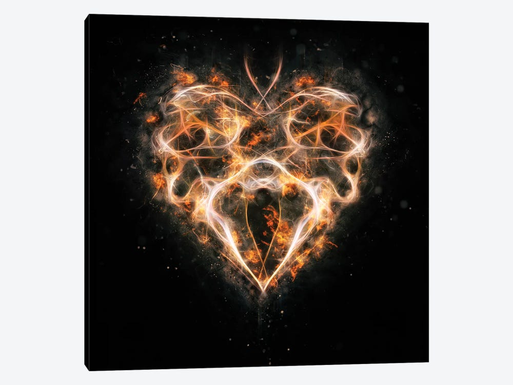 Smoke Heart by Andreas Stridsberg 1-piece Art Print