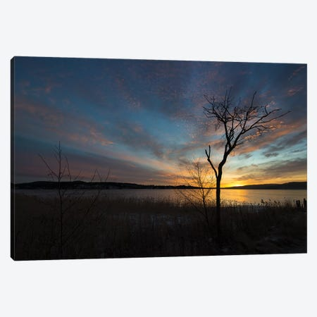 Sunset Canvas Print #STR90} by Andreas Stridsberg Canvas Art