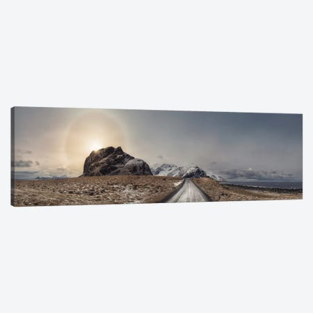 Eggum, Norway Panorama Canvas Print #STR93} by Andreas Stridsberg Canvas Artwork