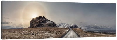 Eggum, Norway Panorama Canvas Art Print