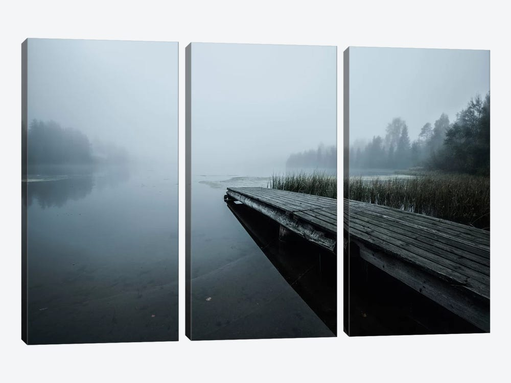 Fog by Andreas Stridsberg 3-piece Canvas Print