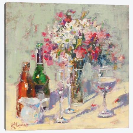 Cheers Canvas Print #STT18} by Jennifer Stottle Taylor Canvas Wall Art