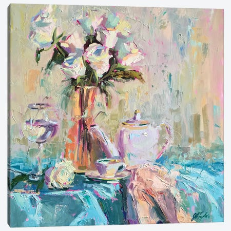 After Dinner Coffee 3-Piece Canvas #STT2} by Jennifer Stottle Taylor Art Print