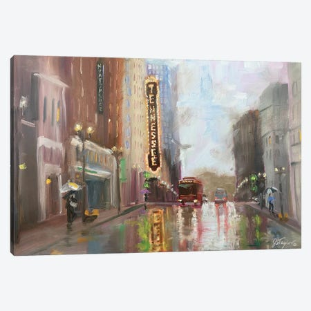 Knoxville TN Canvas Print #STT36} by Jennifer Stottle Taylor Art Print
