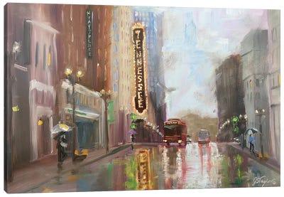 Knoxville TN Canvas Art Print