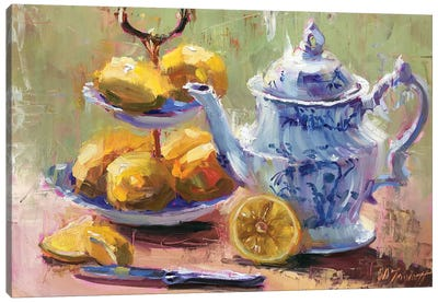 Lemons Toute de Suit Canvas Art Print