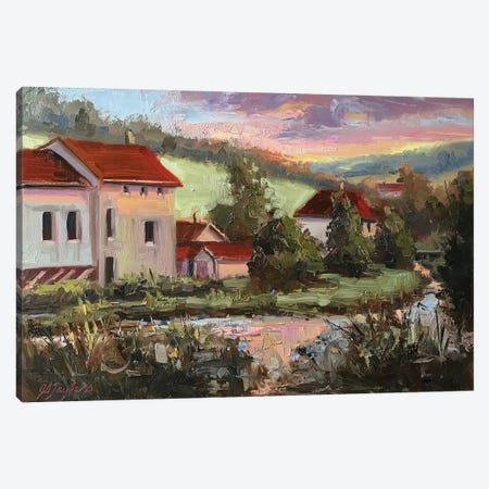 Poissons II Canvas Print #STT55} by Jennifer Stottle Taylor Canvas Print