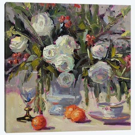 Ranunculus Demo Canvas Print #STT58} by Jennifer Stottle Taylor Canvas Wall Art