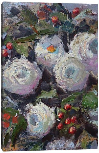 Ranunculus study Canvas Art Print