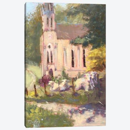 Sunday Worship Canvas Print #STT73} by Jennifer Stottle Taylor Canvas Wall Art