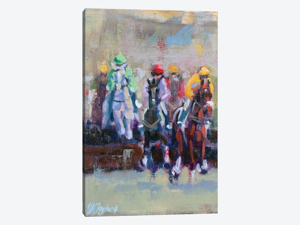 The Final Jump by Jennifer Stottle Taylor 1-piece Canvas Wall Art