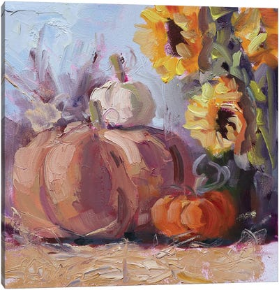 The Season Is Upon Us Canvas Art Print