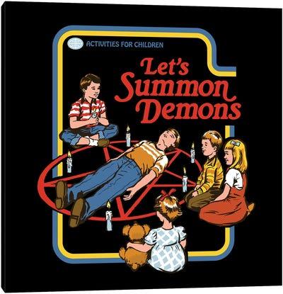 Let's Summon Demons Canvas Art Print
