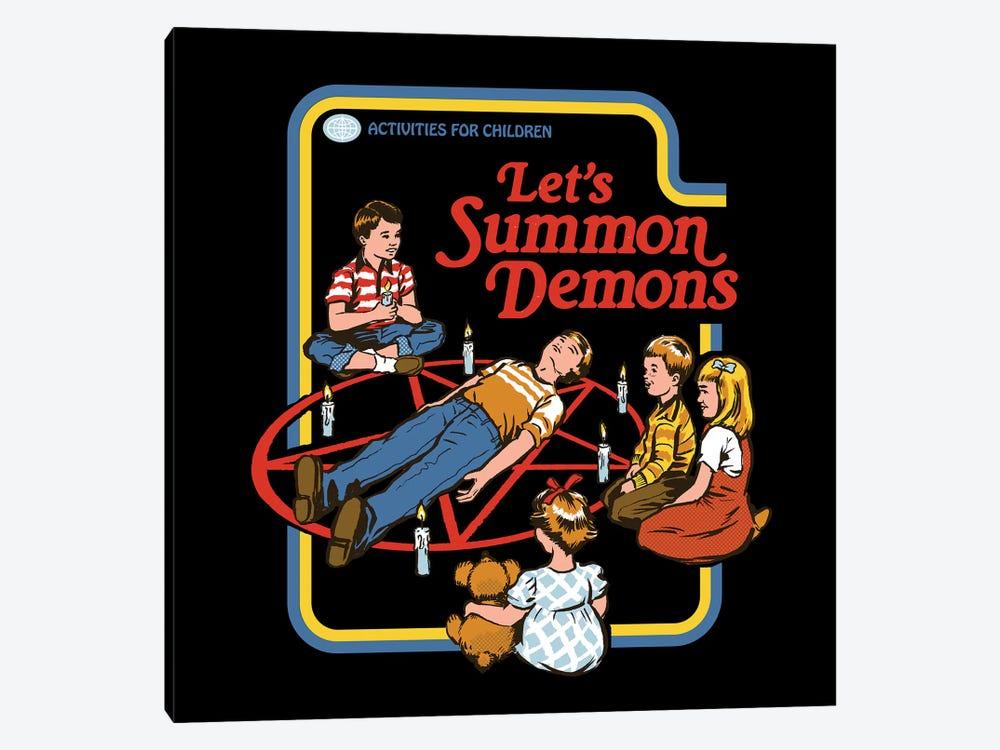 Let's Summon Demons by Steven Rhodes 1-piece Canvas Art Print