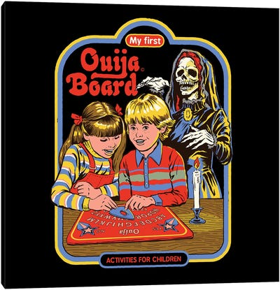 My First Ouija Board Canvas Art Print
