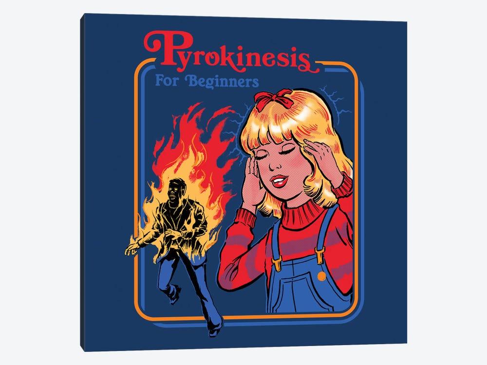 Pyrokinesis For Beginners by Steven Rhodes 1-piece Canvas Art