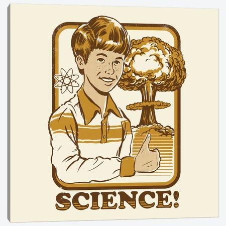Science! 3-Piece Canvas #STV34} by Steven Rhodes Canvas Art Print