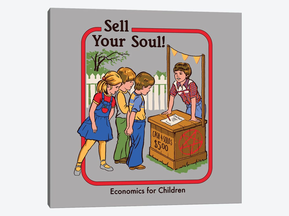 Sell Your Soul by Steven Rhodes 1-piece Art Print