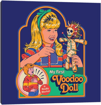 My First Voodoo Doll Canvas Art Print