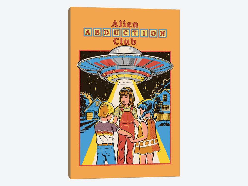 Alien Abduction Club by Steven Rhodes 1-piece Canvas Print