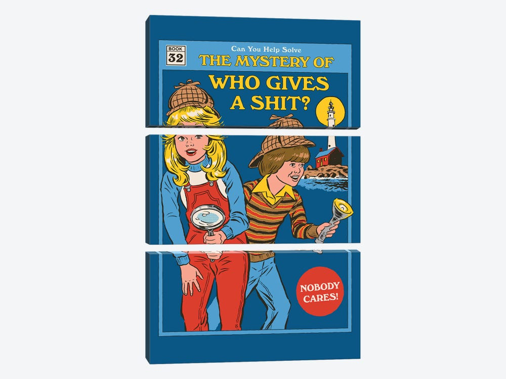 Who Gives A ... by Steven Rhodes 3-piece Art Print