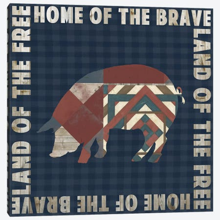 Fourth on the Farm Collection F Canvas Print #STW114} by Studio W Canvas Print