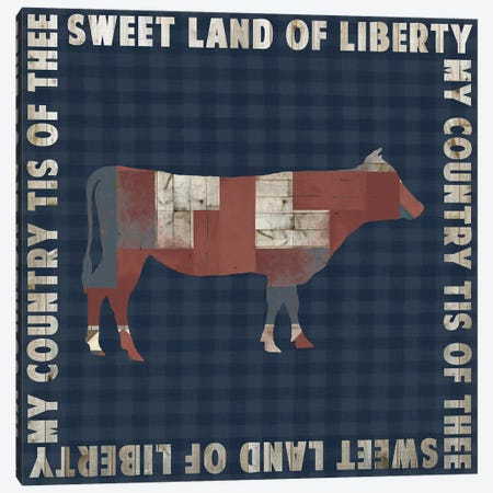 Fourth on the Farm Collection G Canvas Print #STW115} by Studio W Canvas Art Print