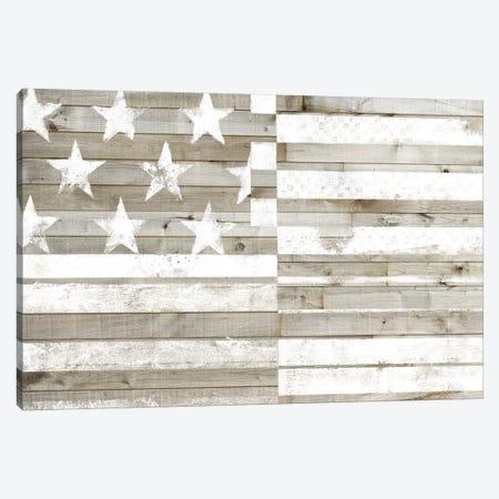 Americana Flag Canvas Print #STW124} by Studio W Canvas Art