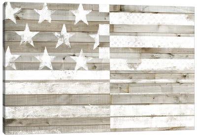 Americana Flag Canvas Art Print