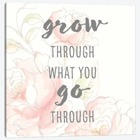 Grow Through I 3-Piece Canvas #STW129} by Studio W Canvas Art Print