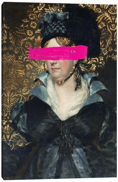 Masked Master IV Canvas Art Print