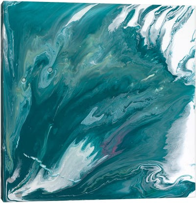 Bermuda Wave II Canvas Art Print