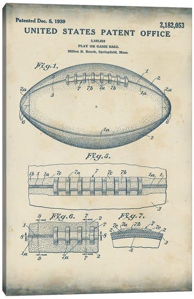 Patented Sport I Canvas Art Print