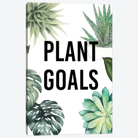 Plant Love II Canvas Print #STW14} by Studio W Canvas Artwork