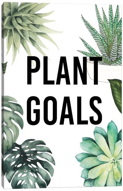Plant Love II Canvas Art Print