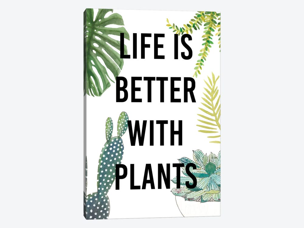 Plant Love III by Studio W 1-piece Canvas Wall Art