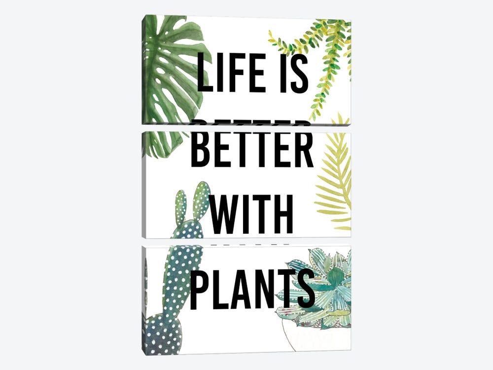 Plant Love III by Studio W 3-piece Canvas Artwork
