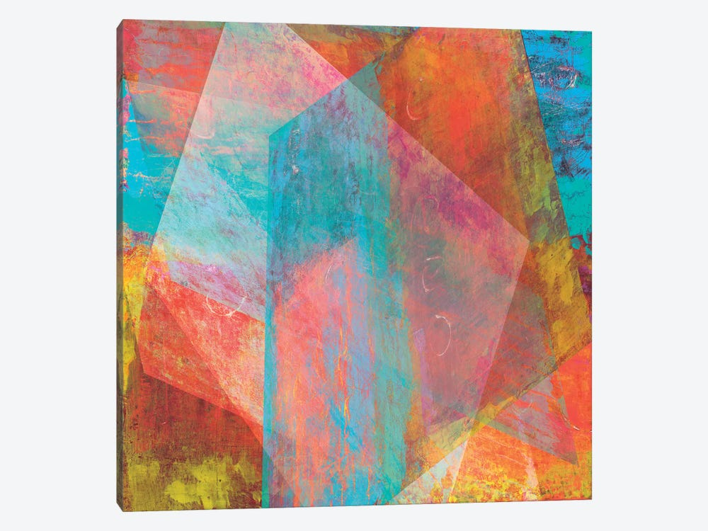 Hi-Fi Geometric II by Studio W 1-piece Canvas Artwork