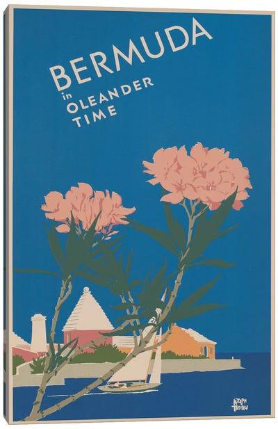 Bermuda Travel Poster I Canvas Art Print