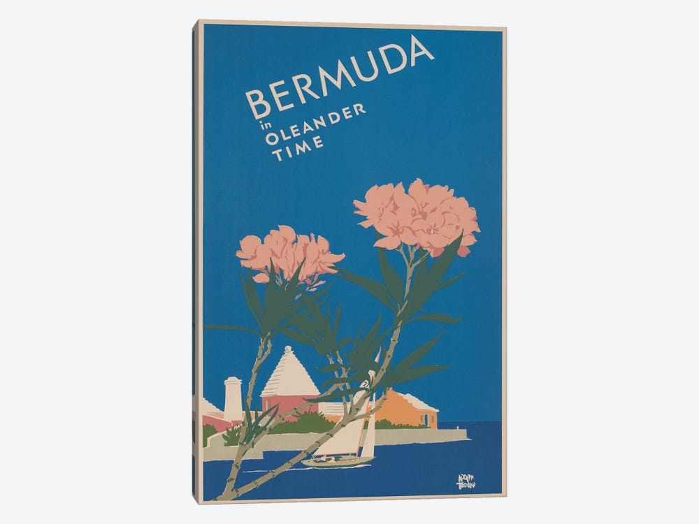 Bermuda Travel Poster I 1-piece Art Print