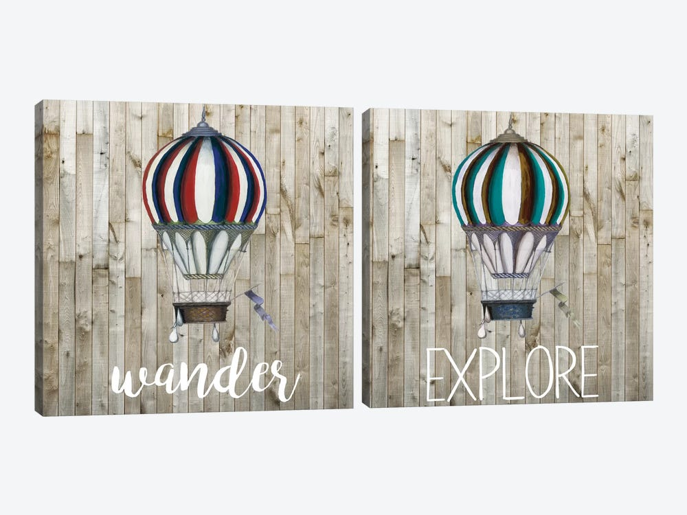 Young Explorer Diptych by Studio W 2-piece Canvas Artwork