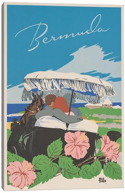 Bermuda Travel Poster II Canvas Art Print